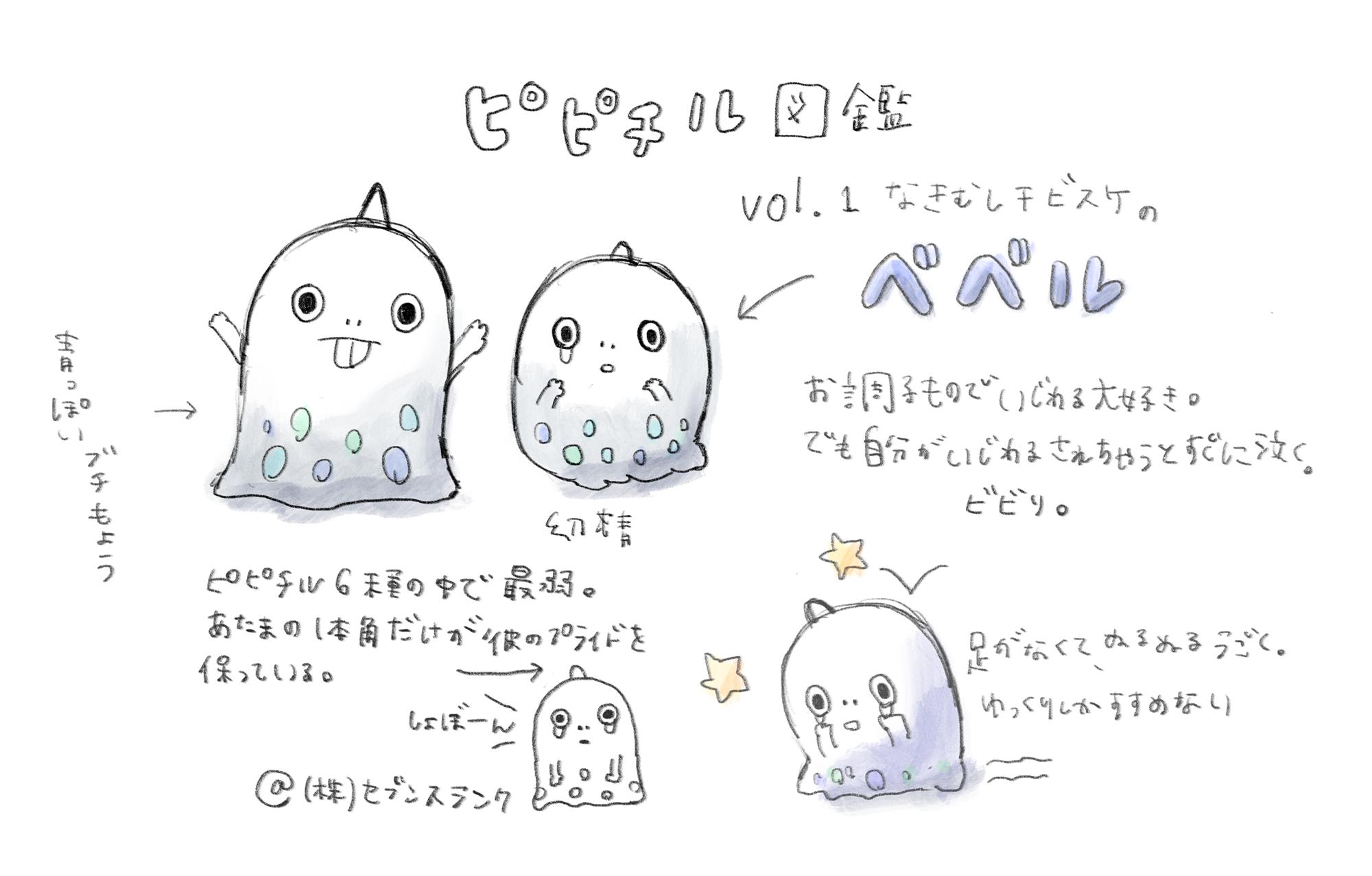 ピピチル図鑑vol.1べベル